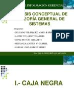 Teoría General de Sistemas (resumen)