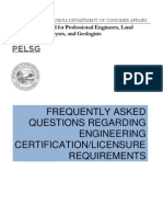 CAlifornia PE Licensing FAQ