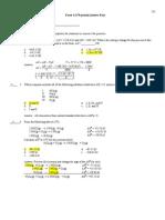 Gen Chem II Exam 1 Ans Key VA f08