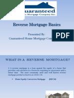 Reverse Mortgage Basics