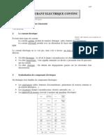Cours Le Courant Continu CAP Prof