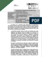 Informe Gob. Navarra respuesta requerimientos