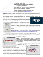 Estudo Sobre Consumo de Energia Em Notebook