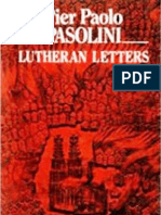 Pier Paolo Pasolini-Lutheran Letters -Carcanet Press Ltd. (1987)