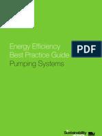 Energy Efficiency Best Practice Guide Pump System