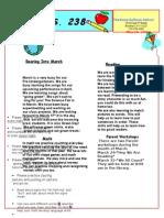 Pre-K March Newsletter