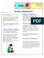 3rd Grade March Newsletter