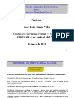 Morfologia Fluvial-DHE 2013 I