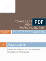 Towards a Resilient and Inclusive Financial Sector