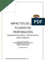 IMPACTOS DE LOS FLUIDOS DE PERFORACIÓN