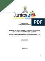 Manual de Recoleccion Y Conceptos Basicos - Linea Base