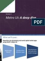 Metro UI Session 2