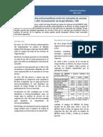 Efectos anticompetitivos de fusión Modelo - AB INBEV en México