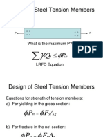 02 - Design of Steel Tension Members