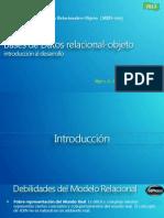 Leccion 1 y 2a - MDB-102 Bases de Datos relacional-objeto (Introducción al desarrollo)