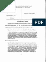 XpertUniverse, Inc. v. Cisco Systems, Inc., C.A. No. 09-157-RGA (D. Del. Mar. 11, 2013)