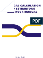 Technical Calculation and Estimator s Man Hour Manual