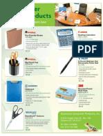 Green Office Supplies