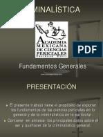5.- FUNDAMENTOS DE CRIMINALÍSTICA