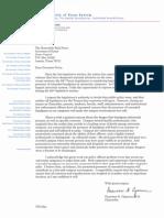 UT Chancellor Letter