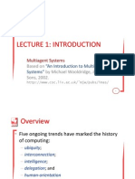 Introduction Lecture 01