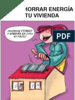 Comic Como Ahorrar Energia en Tu Vivienda Fenercom 2009