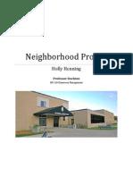 neighborhood project