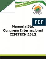 Memoria Cipitech 2012