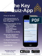 The Key Sergeants Exam App