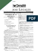 Ley 26979 - LEY DE PROCEDIMIENTO DE EJECUCIÓN COACTIVA