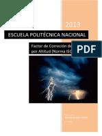 Factor de Correción de Aislamiento por Altitud.pdf