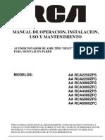 Manual RCA1