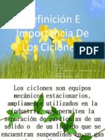 Definición E Importancia De Los Ciclones.pptx