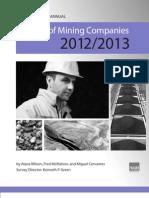 Survey of Mining Companies 2012/2013