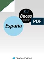 Becas Doctorado La Caixa 2013