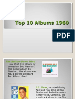 Top 10 Albums in1960-Baby Boomer Generation Music