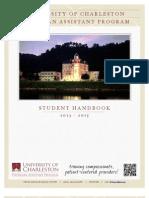 UCPAP Student Handbook 2013-2015