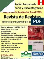 REVISTA DE REVISTAS APPO