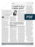 Fighter Pilot Oped