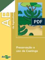 Preservação e conservação da caatinga embrapa