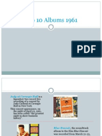 Top 10 Albums 1961-Baby Boomer Generation Music