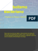 Metabolismo.bactéria