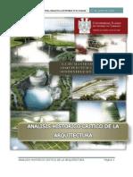 Analisis Historico Critico de La Arquitectura