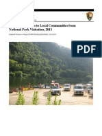 Economic Benefits to Local Communities from National Park Visitation — National Park Service — Natural Resource Stewardship and Science — Natural Resource Report NPS/NRSS/ARD/NRR - 2013/632