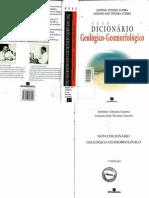 dicionário geológico-geomorfológico