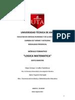 Modulo Logica Matematica