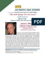 Juan Cole Middle East Studies