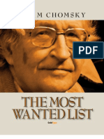 The Most Wanted List
