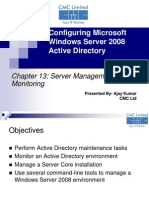 Chapter13 Server Management and Monitoring