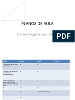 PLANOS DE AULA ROGÉRIO